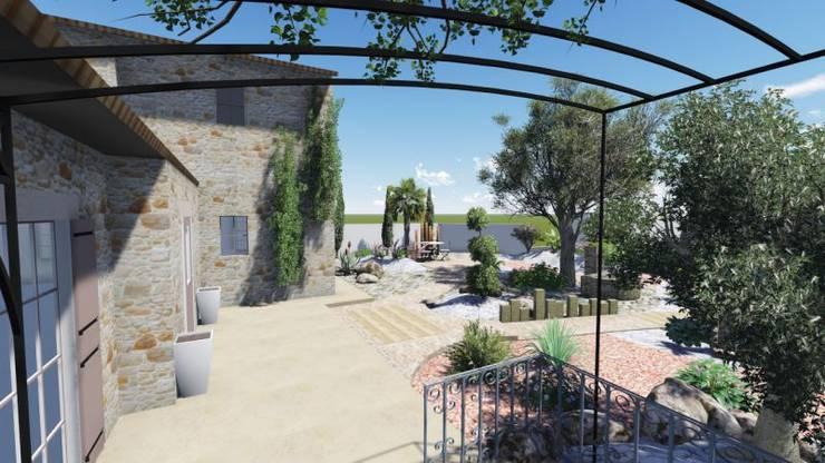 Aménagement intérieur: Terrasse de style  par INEO CONCEPT