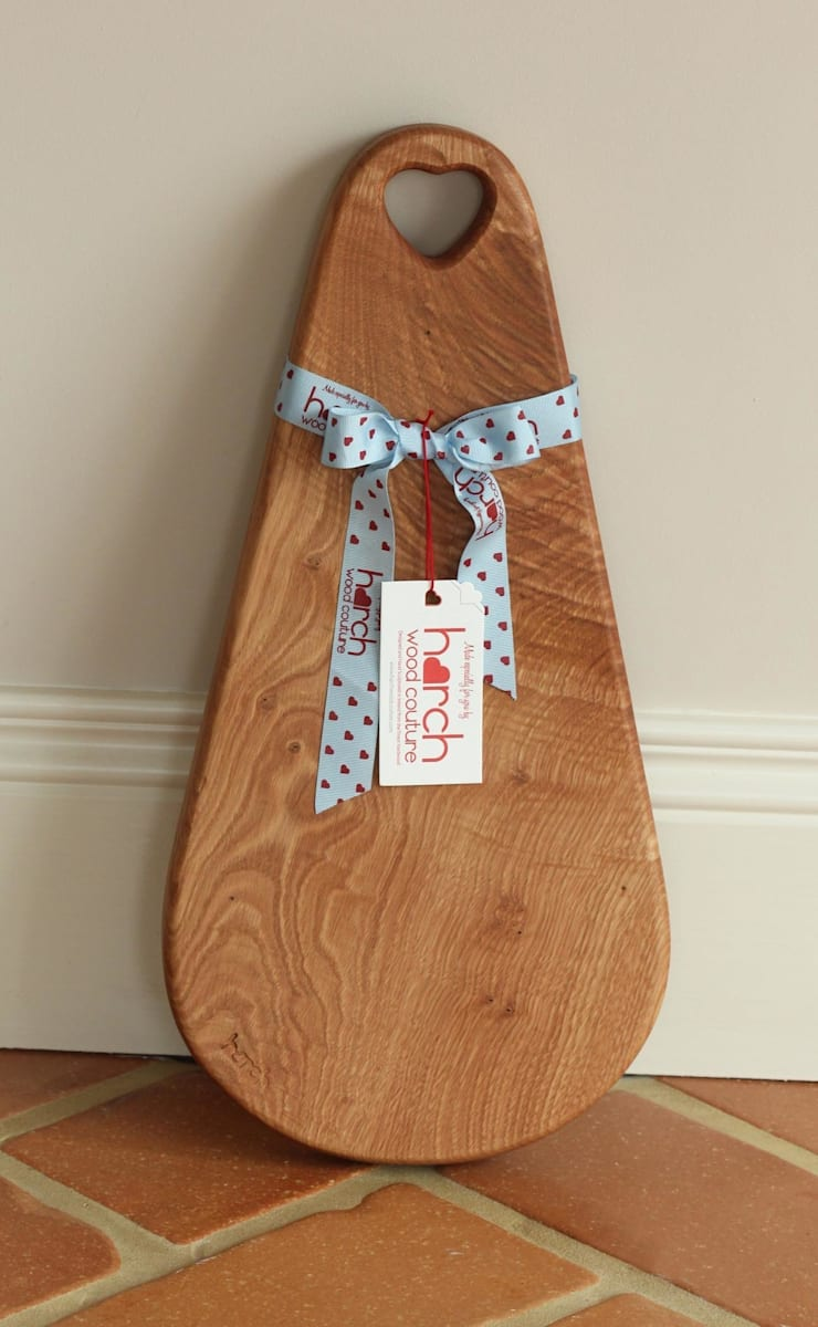 Harch Raindrop Board- Chopping and Serving Board:  Kitchen by Harch Wood Couture
