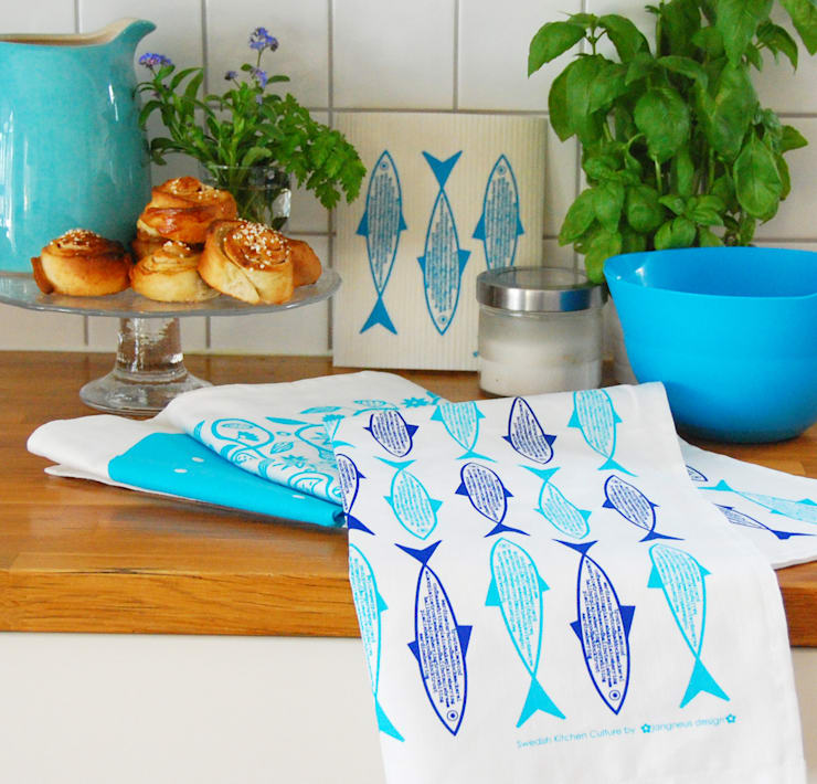 Tea towels:  Household by Jangneus