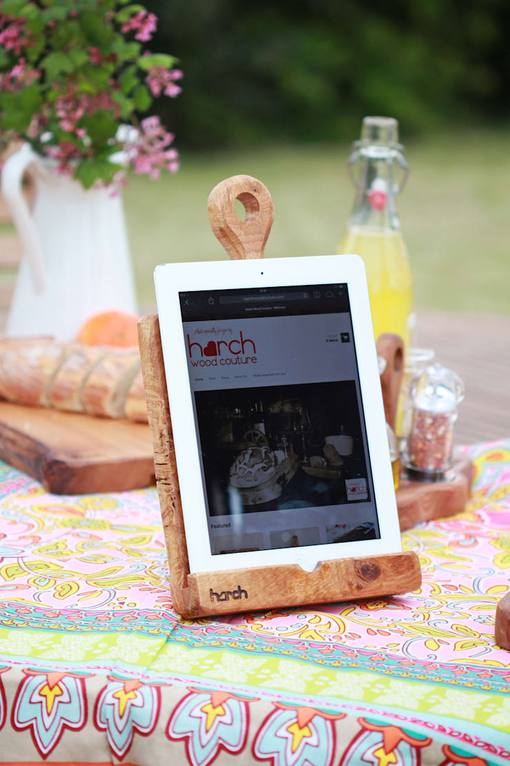 Harch Tablet Holder:  Kitchen by Harch Wood Couture
