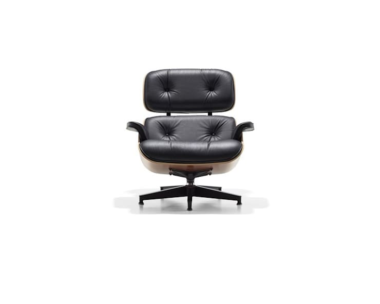 Eames Lounge Chair & Ottoman:   by Herman Miller