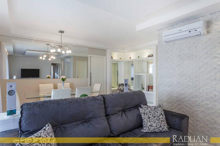 Apartamento 127 m² - Saúde:   por Raduan Arquitetura e Interiores