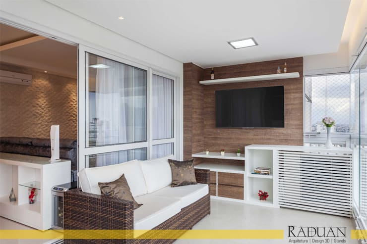 Apartamento 127 m² – Saúde:   por Raduan Arquitetura e Interiores,Moderno