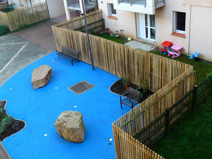 Jardin de résidence:  de style  par ÉMILIE GRAHAM PAYSAGE