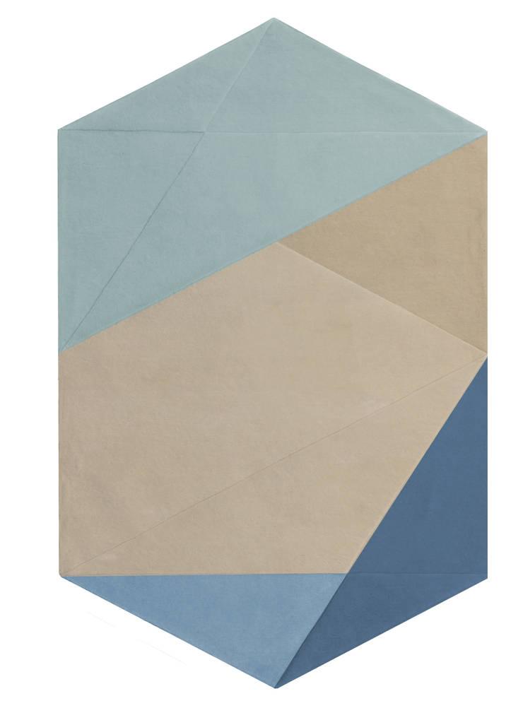 MIRE blue: Paredes y suelos de estilo  de JOSEALBORS