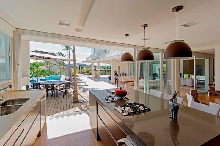 Casa 491: Casas modernas por Jannini & Sagarra Arquitetura