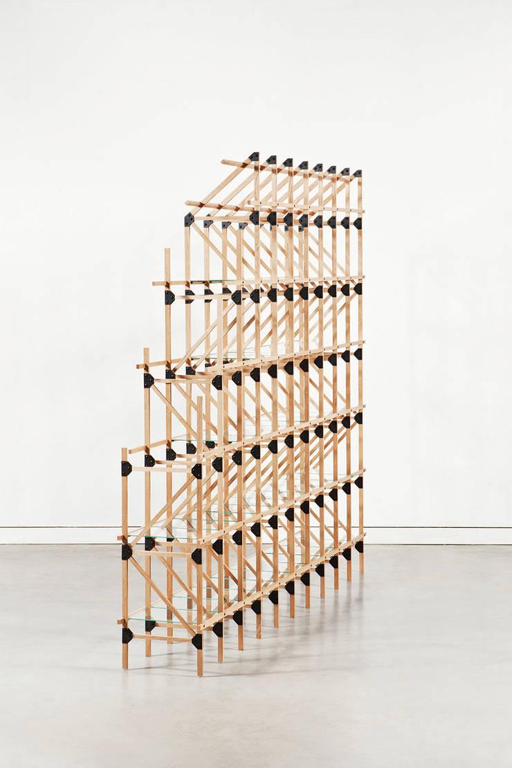 Vakwerken:  Woonkamer door Studio Mieke Meijer,