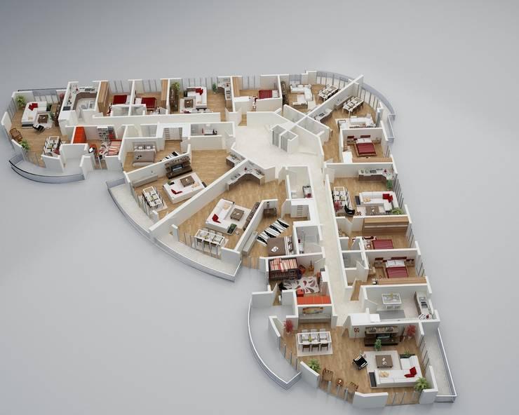 CANSEL BOZKURT  interior architect – ARİFOĞLU GRUP AŞ. GÜRPINAR PROJESİ:  tarz