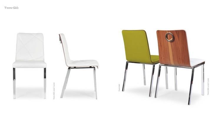 Chaise TWIN-GO: Salon de style  par CMC-CONCEPT