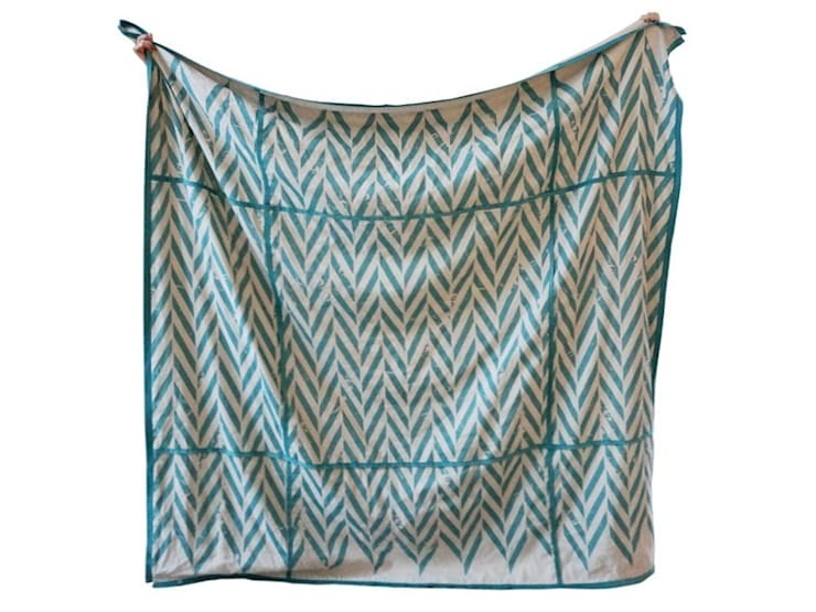 ZIGZAG printed linen bedding by Lovely Home Idea:  Bedroom by LOVELY HOME IDEA