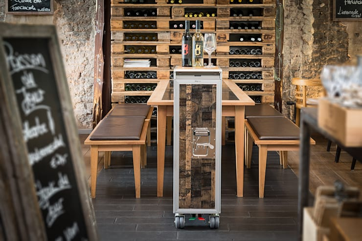 Wine cellar by Skypak,