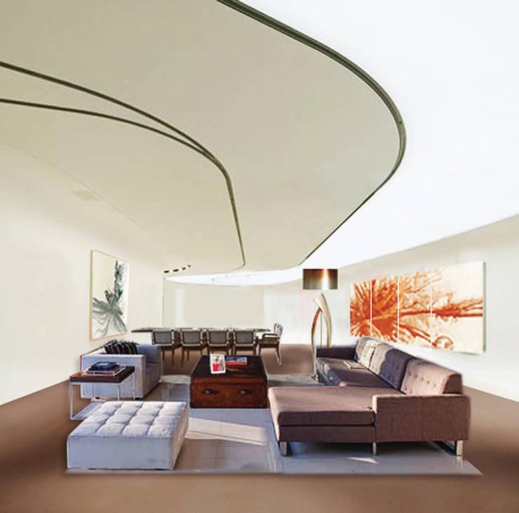 Apartment Renovation:   by Debbie Flevotomou Architects