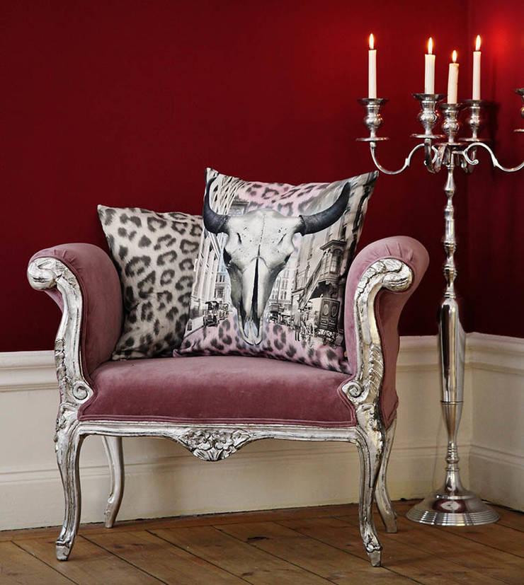 Steer City Cushion:  Living room by Van Asch