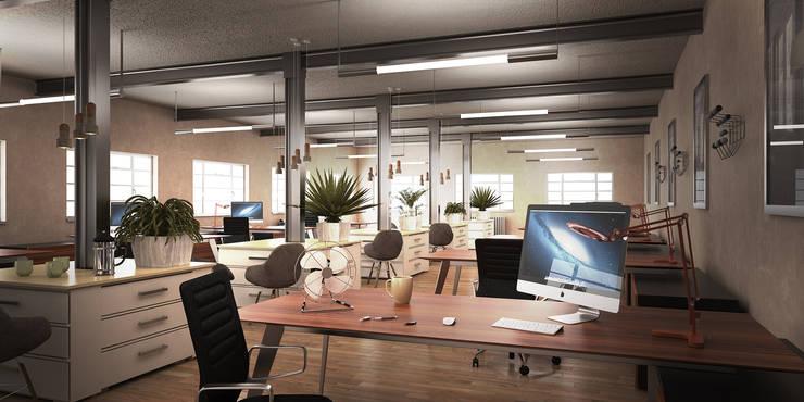 Hatton Garden:  Office buildings by vmavi