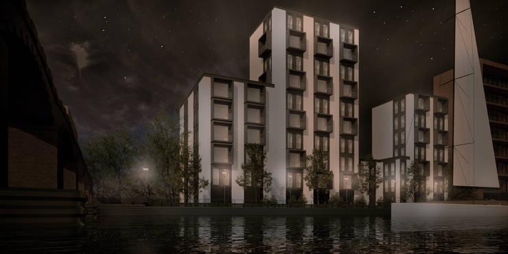 Zijkanaal D:  Houses by vmavi