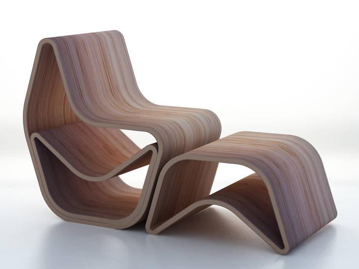 GVAL chair: Salon de style  par LOUIS SICARD