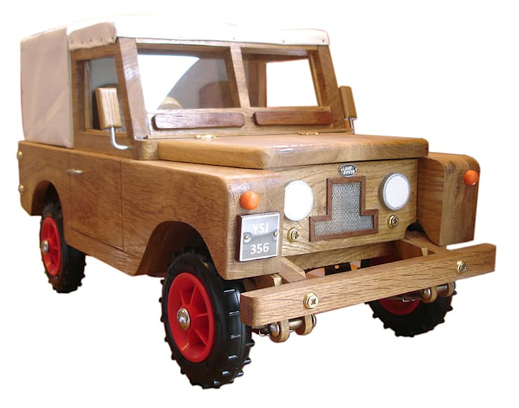 Wooden Landrover:   by In My Room