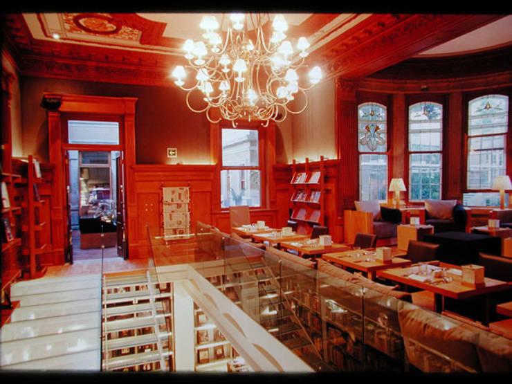 Casa Lamm: Comedores de estilo  por Serrano Monjaraz Arquitectos