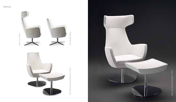 Fauteuil NOVA ALTA: Salon de style  par CMC-CONCEPT
