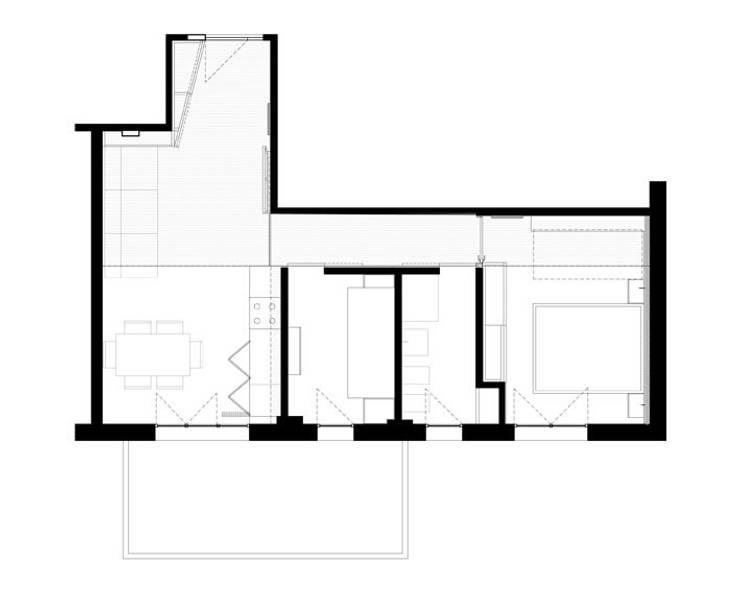 interno #6: Case in stile  di STUDIO PIRACCINI , Minimalista