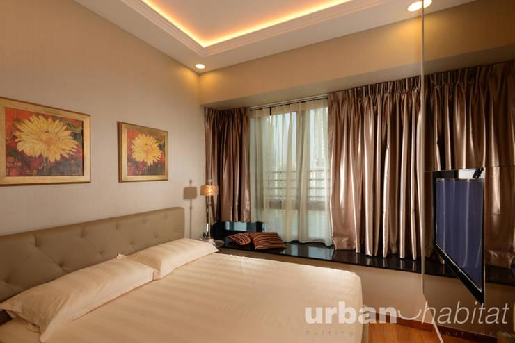 368 Thomson Condo:  Living room by urban habitat