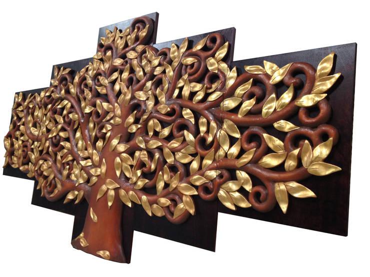 Perfil Árbol de la Vida de Murales Artisticos Decorativos Moderno