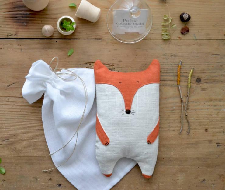 """Bouillotte de lin """"Séraphin"""": Chambre d'enfants de style  par Les pommettes du chat"""