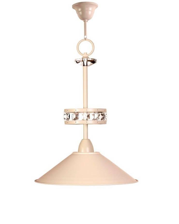 Lámpara clásica 1 luz Riviera: Dormitorios de estilo  de Ámbar Muebles