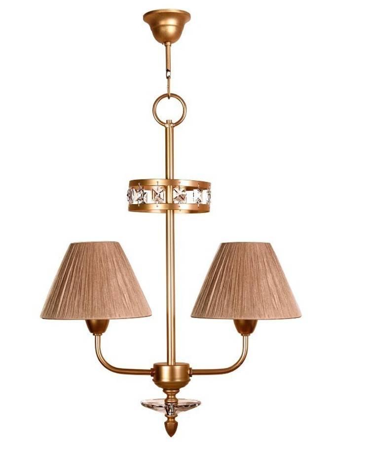 Lámpara clásica 2 luces Ipanema: Dormitorios de estilo  de Ámbar Muebles