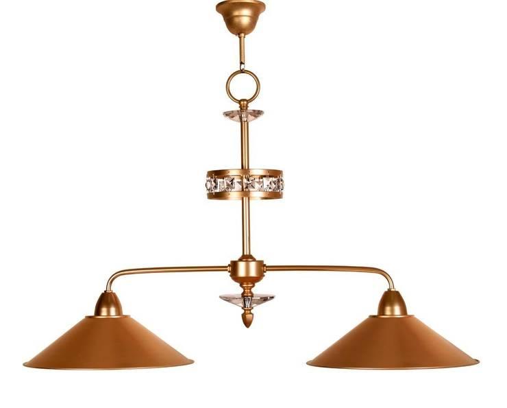 Lámpara clásica 2 luces Riviera: Dormitorios de estilo  de Ámbar Muebles