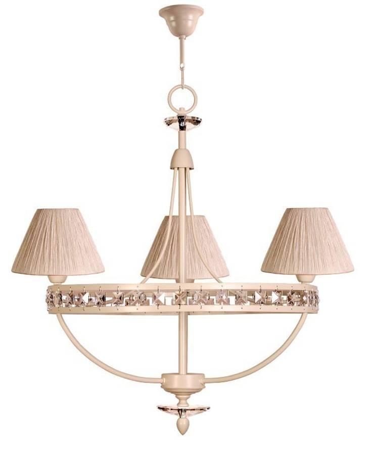 Lámpara de techo clásica 3 luces Gareth: Dormitorios de estilo  de Ámbar Muebles