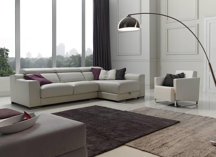 Leather collection:  de estilo  de Dina Tapizados