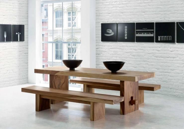 Mesa de Comedor Nórdica Basic: Comedor de estilo  de Paco Escrivá Muebles