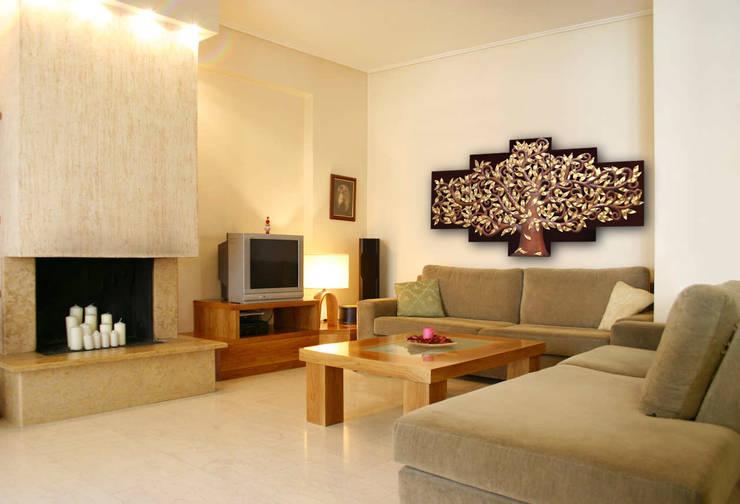 Aplicación Árbol de la Vida de Murales Artisticos Decorativos Moderno