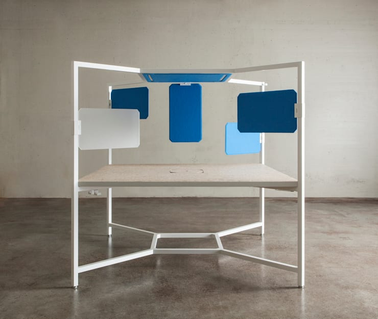 HUB: Studio in stile  di Fantoni,