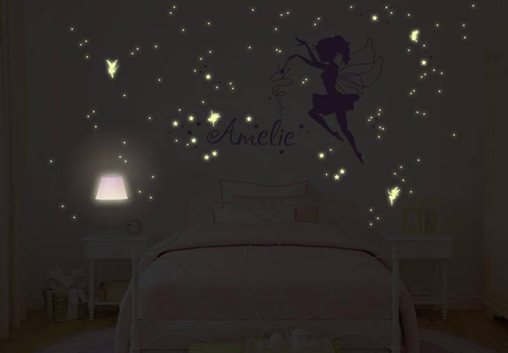 Leuchtsterne Kinderzimmer | Leuchtsterne Von K L Wall Art Homify