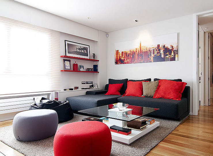 CASA SANTS: Casas de estilo minimalista de FANSTUDIO__Architecture & Design