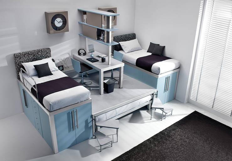 Dormitorios infantiles  de estilo  por Tumidei