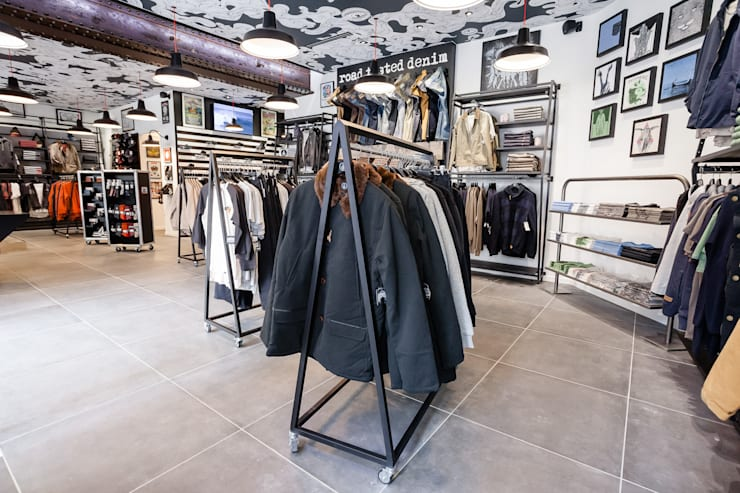 Espace Volcom Homme: Locaux commerciaux & Magasins de style  par CADYPSO
