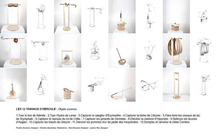 Les douze travaux d'Hercule: Art de style  par Pauline Androlus/Charline Deschamps/Nina Dissard/Jeanne Riot