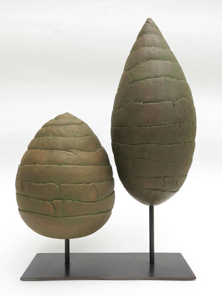 Couple d'arbres: Art de style  par MARIE RANCILLAC