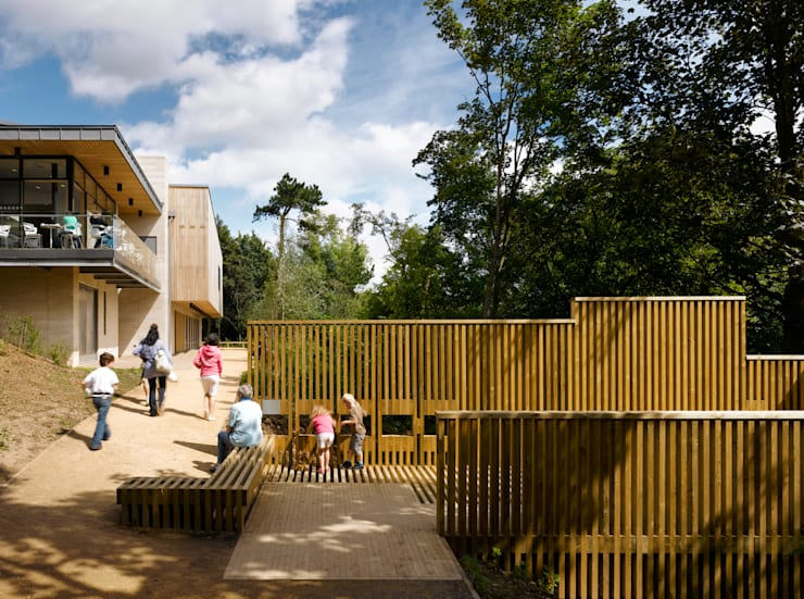 Creswell Crags, Museum and Education Centre:  Museums by OMI Architects