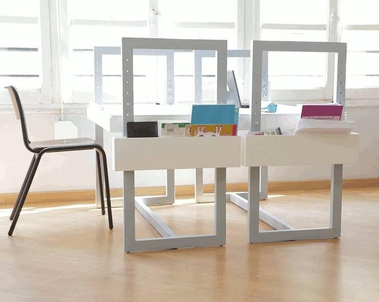 Table bureau adaptable pour enfants et adultes par louis sicard