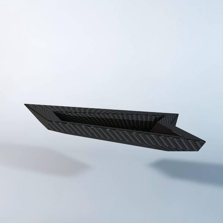 CarbonShark: modern  von Haubiz Design,Modern