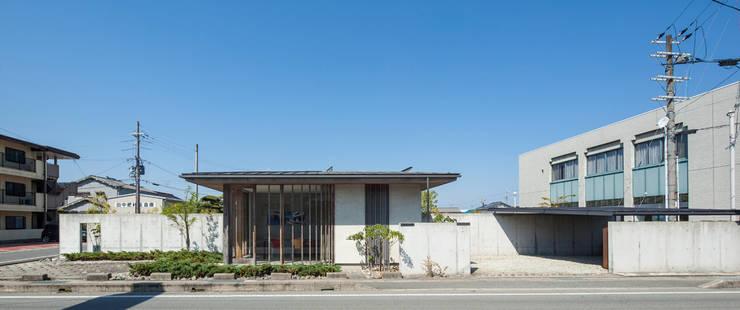 外観: 川添純一郎建築設計事務所が手掛けた家です。