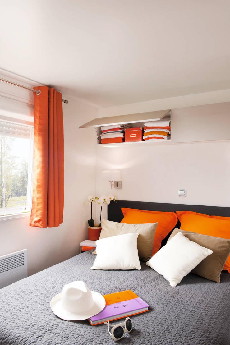 La chambre principale:  de style  par Tendance Mobil-home