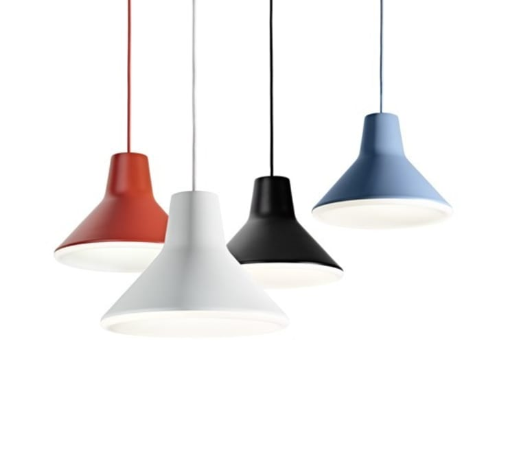 Suspension Archetype Led Luceplan: Maison de style  par Ledseco
