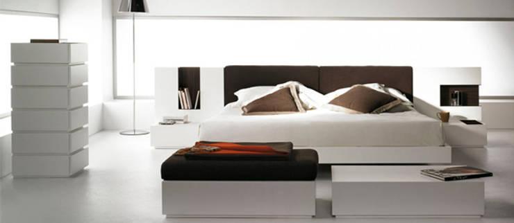 Cubo: Dormitorios de estilo  de Enrique Martí Asociados s.l.