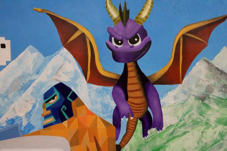 Tableau personnage jeux video:  de style  par Melanovas