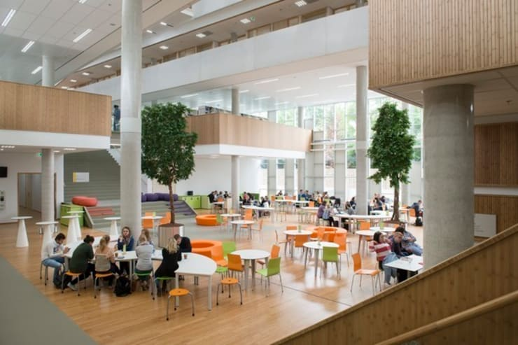 HAN Faculty of Education I/O:   door Liag Architecten en Bouwadviseurs